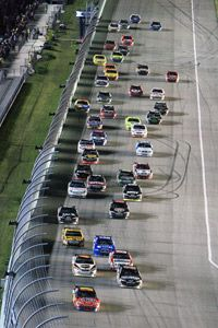 The competing cars are now more similar than ever, regardless of whether they're Chevrolets, Fords, Dodges or Toyotas.