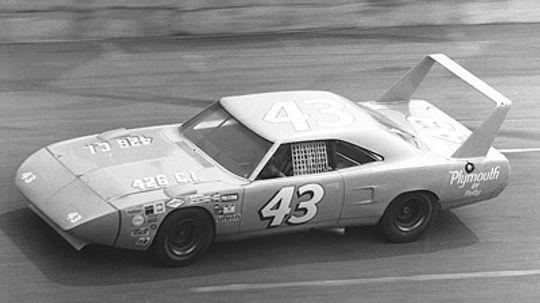 How does downforce help a NASCAR race car?