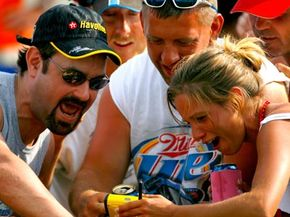 FanView allows race fans to see (and hear) all of the action at the track -- not just what's happening in front of them.