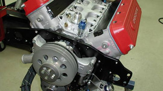 What makes NASCAR engines different from street car engines?