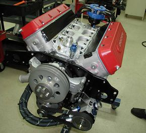 A NASCAR Engine. See more pictures of engines.