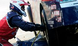 Air guns help make NASCAR tire changes extremely fast.