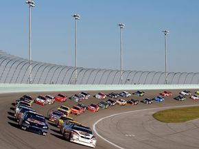 The distribution of NASCAR prize money depends on more than just who wins the race.