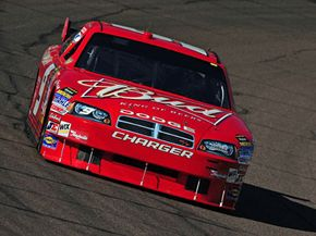 Budweiser pays a lot of money to have Kasey Kahne's car covered with its logo.