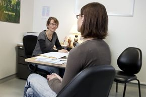 Talk therapy is likely the best treatment option for narcissists -- if they ever even make it to the therapist's office.