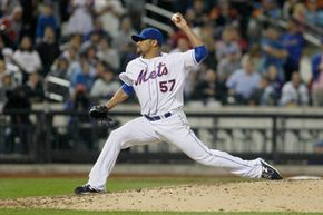 Johan Santana of the New York Mets fires a pitch in June 2012, on his way to a no-hitter against the St. Louis Cardinals. See more sports pictures.