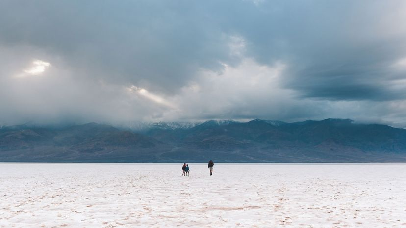 hikers, Death Valley National Park