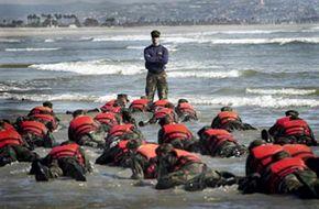 SEAL beach training