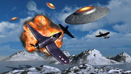 Was Hitler Building Advanced UFOs in Antarctica?