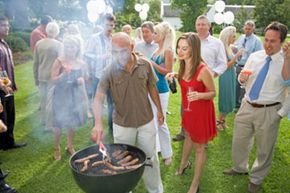 Hosting a neighborhood meet and greet can be just as much about having fun as it is about meeting your neighbors.
