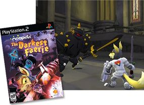 """""""Neopets: The Darkest Faerie"""" PlayStation 2 game"""