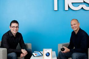Nest creators Matt Rogers (left) and Tony Fadell (right)
