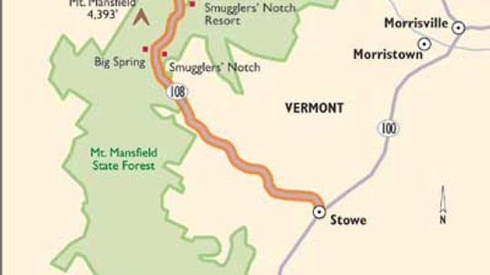 Vermont Scenic Drives: Smugglers Notch