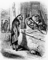 Did Newton bridge the worlds of indoor cat and outdoor cat?