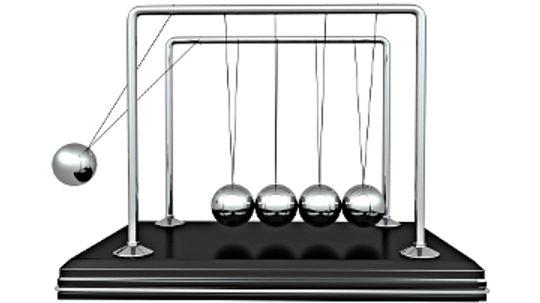 How Newton's Cradles Work