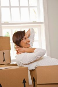 Start collecting boxes well before your scheduled move.