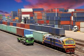 Freight containers have been used for decades to transport goods, but now they're connected to sophisticated tracking systems.