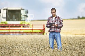 Modern crop management involves handling specialized data to maximize output.
