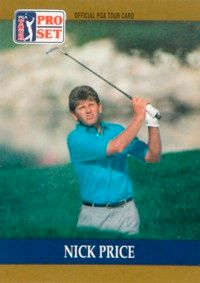 Nick Price had four PGA Tour wins in 1993 and topped the Tour money list in 1994. See more pictures of the best golfers.