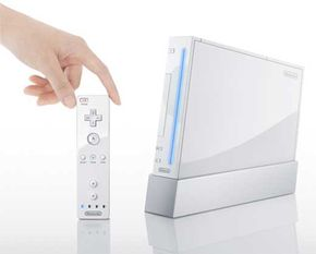 The Wii remote can be used to access Associated Press news from around the world.