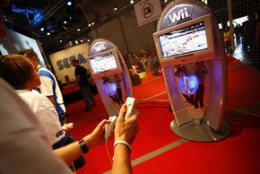 Carsten Koall/Getty Images The Wii was featured at Games Convention 24 in Leipzig, Gemany, in August 2007.