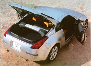 The hatchback body style gave the Z a practical dimension with its easy access to storage.