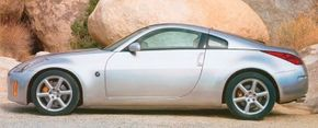 The Nissan 350Z packed a lot of excitement into a body just 169.6 inches long.