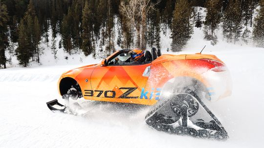 Nissan Concept Convertible Doubles as Snowmobile