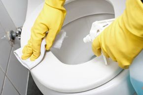 There are plenty of bleach-alternatives that will do just as good a job at cleaning your bathroom.
