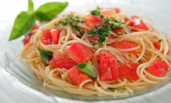 You can find pre-cooked pasta in your grocery store for an easy meal.
