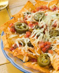 Nachos don't take any longer to make for a crowd than they do for one person.