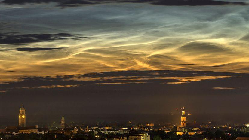 noctilucent, clouds