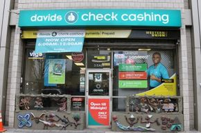 No bank account? Check-cashing businesses can come in handy.