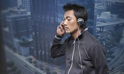Noise-canceling headphones are designed to maximize your listening experience.