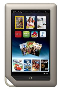 The Nook Tablet offers a host of multimedia and computing features. Oh, and you can read on it, too.