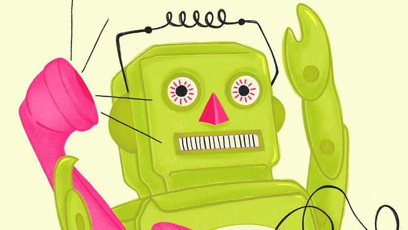 """机器人和电话""""width="""