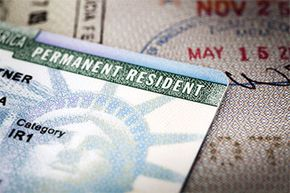 Green card holders are considered resident aliens and taxed the same as U.S. citizens.