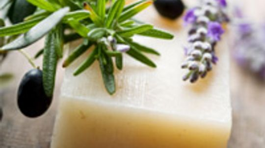 How is a non-soap bar different from soap?