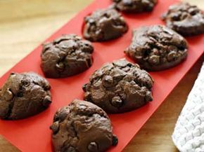 Silicone can become a floppy muffin tin or a nonstick coating for a metal pan.