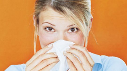 How can I keep my nose moist when I have a cold?