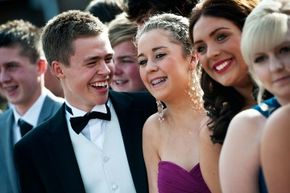 Remembering your prom glory days is OK once in a while. It might even make you happy.
