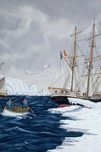 As ships made their way through the Arctic on adventure and whaling missions, explorers pieced together knowledge of the Northwest Passage.