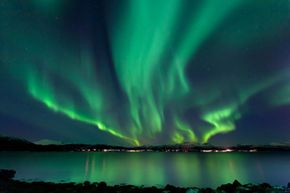 According to Viking legends, aurora borealis (the northern lights) were reflections from the armor of valkyries, the goddesses who chose which warriors would die in battle.