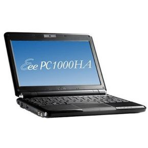 The Eee PC 1000 HA is a 10-inch (25.4-centimeter) netbook computer.
