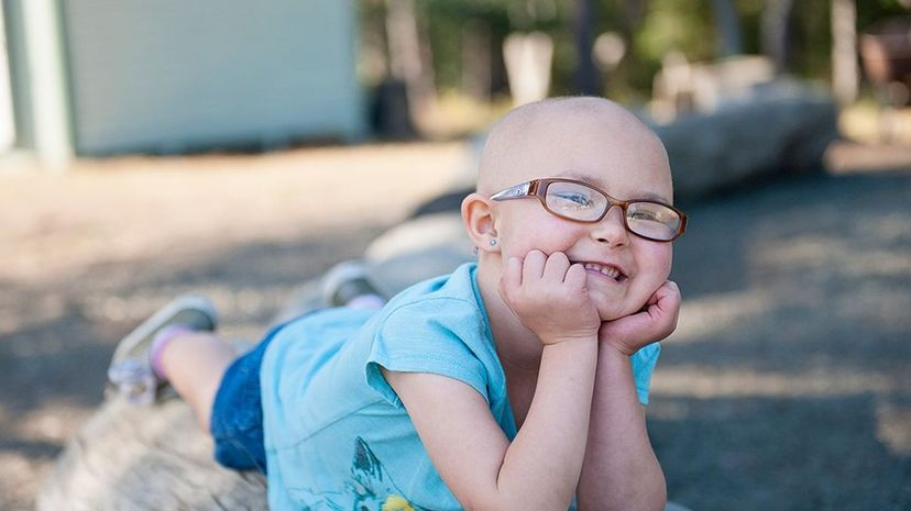 Annie is the Honored Kid for Giving Tuesday for the St. Baldricks Foundation, which raises money for childhood cancer research. St. Baldricks Foundation