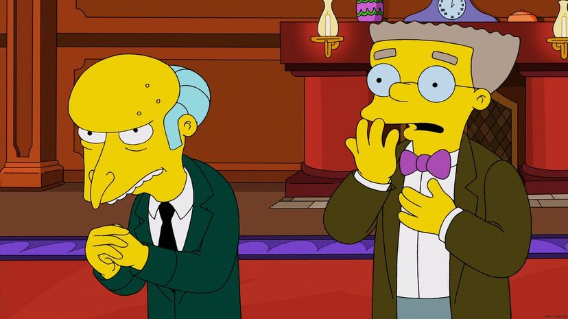"""Would billionaire """"The Simpsons"""" character Mr. Burns infuse his veins with the blood of the young? We're surprised he hasn't already. Fox/Getty Images"""