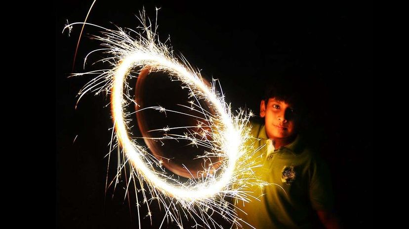 How Do Sparklers Work? Reactions
