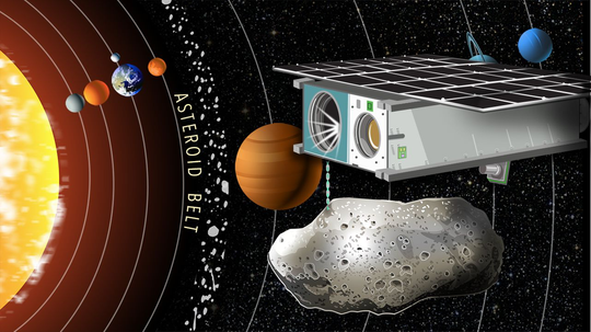 A Space-Age Gold Rush? We Could Be Mining Asteroids by 2018