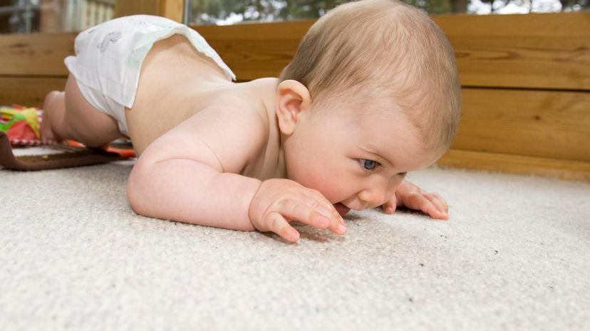 If a baby is at risk for nicotine toxins left in carpets, does that mean her parents could sue their landlord for not telling them a smoker used to live in their apartment? Rune Johansen/Getty Images