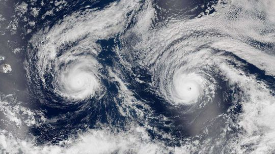 Is a Double Hurricane Something You Should Start Freaking Out About?